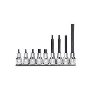 920PE/SB9 Set of 9 socket drivers for hexagon screws