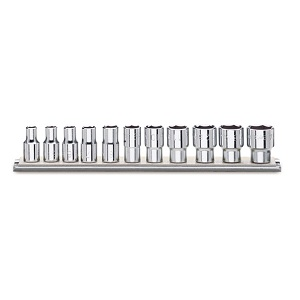 """920A-AS/SB11 Sets of 1/2"""" imperial sockets, hexagon ends"""