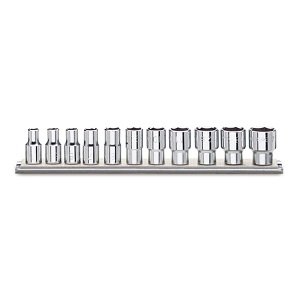 """920AS/SB11 Sets of 1/2"""" imperial sockets, bi-hex ends"""