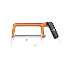1725CR Mini hacksaw frame, made from varnished aluminium