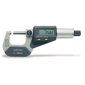 1658DGT Outside micrometers, reading to 0.001mm