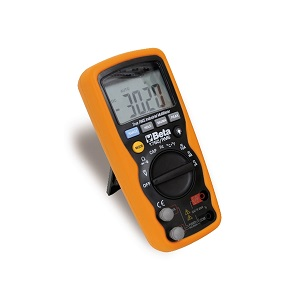 1760/RMS Industrial digital multimeter, in 6mm moulded shell, with anti-slip / shockproof rubber casing