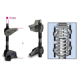 1556/2A Compressor for shock absorber springs