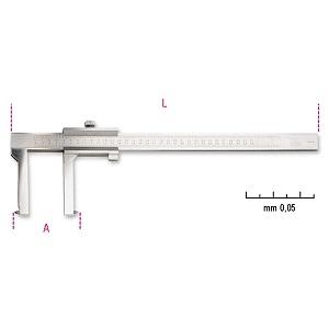 1650FT Sliding gauge for brake drums