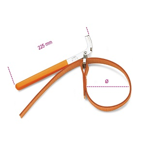 1490/1 - 1490/2 Strap wrenches for oil filters