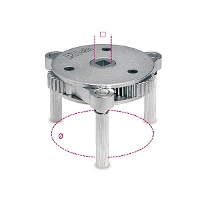 1493/S-U Self-adjusting oil filter wrench