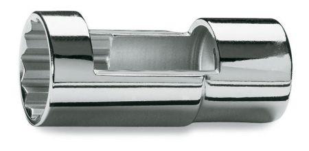 "960A 1/2"" square drive socket for diesel engine injectors, bi-hex"