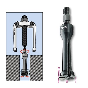 1544 Two-leg internal extractors