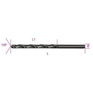 412L Twist drills, long series