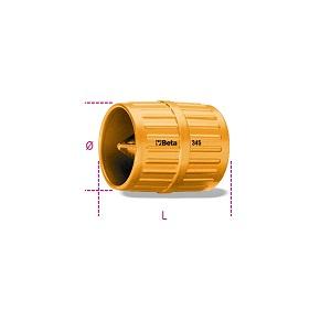 345 Pipe reamer, varnished metal body