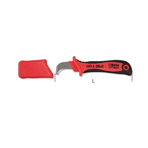 1777MQ/C- Insulated cable stripping knife, 1000V