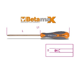1272BA Betamax screwdrivers for cross head phillips® screws
