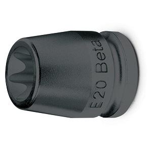 "720FTX Square drive impact sockets, for torx® head screws, 1/2"" female square drive"
