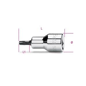 920RTX Socket drivers for tamper resistant torx® head screws