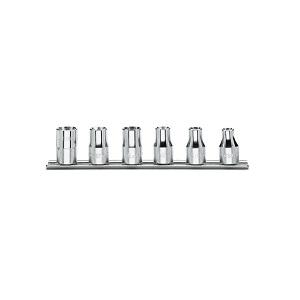 "920FTX/SB6 Set of sockets for torx® head screws, 1/2"" female square drive"