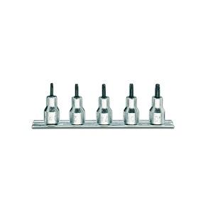 920RTX/SB5 Sets of socket drivers for tamper resistant torx® head screws