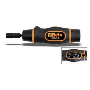 583 Slip torque screwdrivers, ungraduated