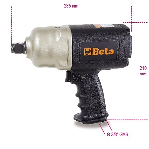 """1928CD Reversible impact wrench, made from composite material 3/4"""" Drive"""
