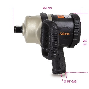 1930CD Reversible impact wrench made from composite material