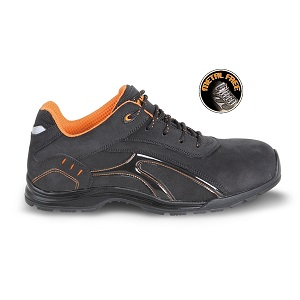 7349RP Shoe made of Nubuck crust leather, waterproof with rubber outsole and soft PU ring