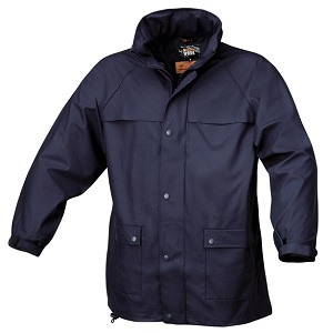 7979 BLU Waterproof, pvc tricot jacket