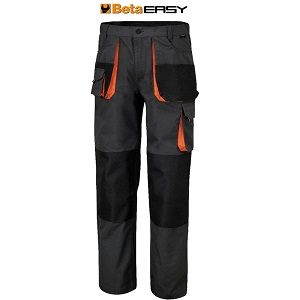 7900E Work trousers multipocket style in T/C canvas Grey
