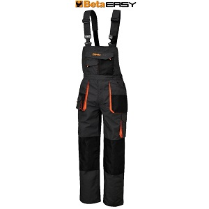 7903E Work overalls in T/C canvas Grey