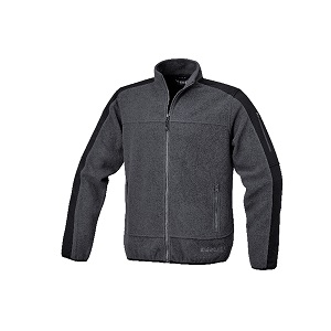 7622G Fleece jacket with polyester inserts