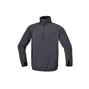 7635G Microfleece sweater, short-zipped