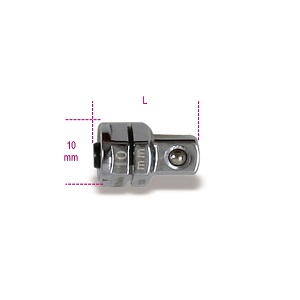 """123Q Quick release adapter, 1/4"""", for 10mm ratcheting wrenches"""