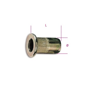 1742R-A/M Threaded steel rivets for item 1742