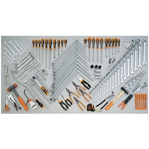 5954VG Assortment of 138 tools for car repairs