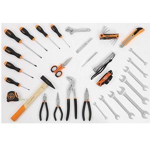5915VU/0 Assortment of 35 tools - universal use