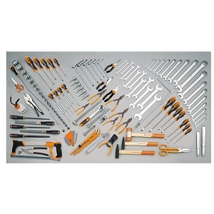 5953VI Assortment of 137 tools for industrial maintenance