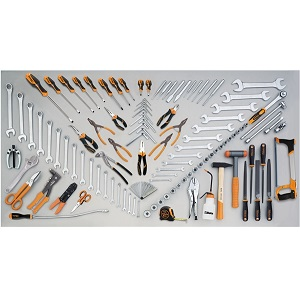 5954VI Assortment of 115 tools for industrial maintenance