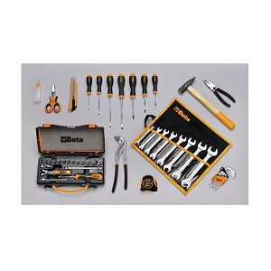 5915VU/2 Assortment of 49 tools for universal use