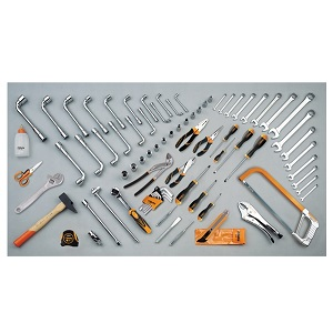 5915VU/4 Assortment of 80 tools for universal use