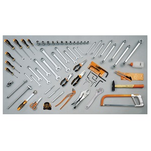 5915VU/AS Assortment of 68 tools for universal use