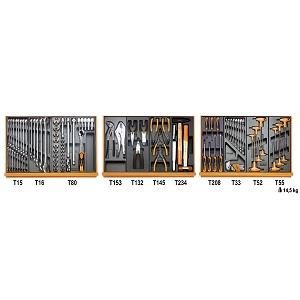 5904VG/2T Assortment of 99 tools for car repairs