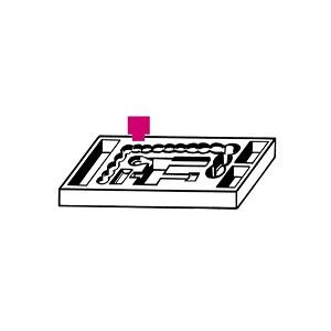 S1719 Tool holder for back panels