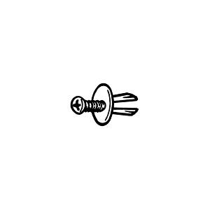 VE1 Expansion bolt for back panels
