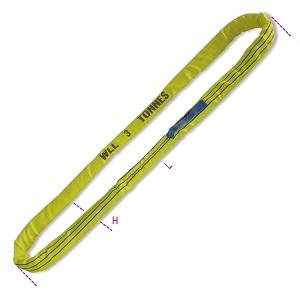 8176 Round slings, yellow 3t