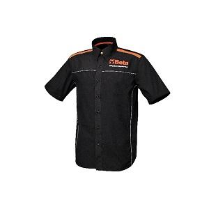 9510 Short-sleeved shirt, 100% poplin cotton