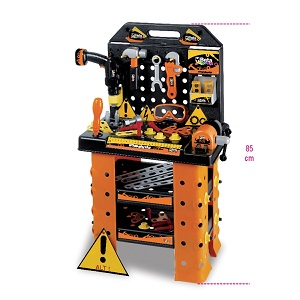 """9547WSK """"Kinder work station"""", workbench with tools"""